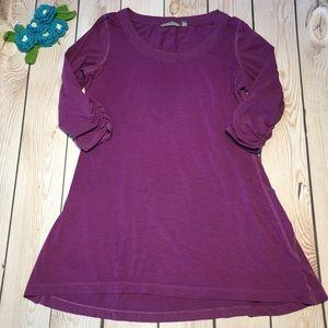 Athleta women's lightweight tee shirt dress